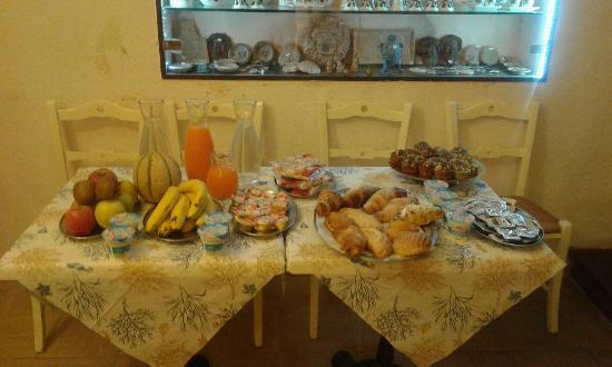 B&B Affittacamere Sovana da Roberto: La colazione