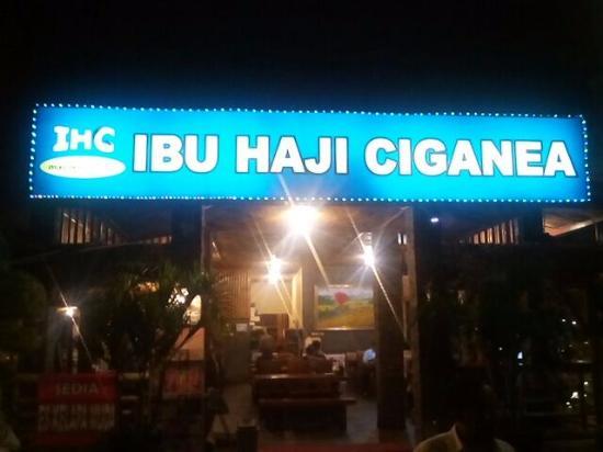 Rm Ibu Haji Ciganea Ihc Purwakarta Restaurant Reviews Phone