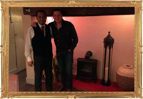 Abbots Bromley, UK: It was great to welcome Celebrity 'TonyHadley' into the restaurant last weekend! English pop s