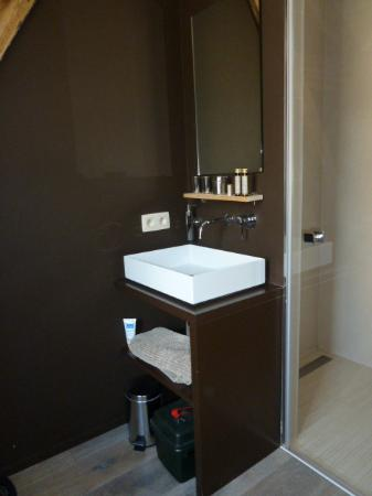 lavabo et douche photo de les tilleuls vielsalm tripadvisor. Black Bedroom Furniture Sets. Home Design Ideas
