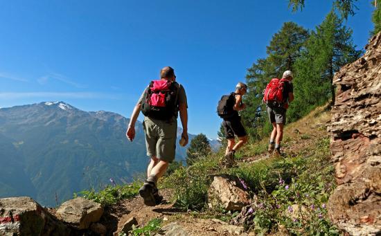 Renon, Italia: Genussvolle Wandertouren