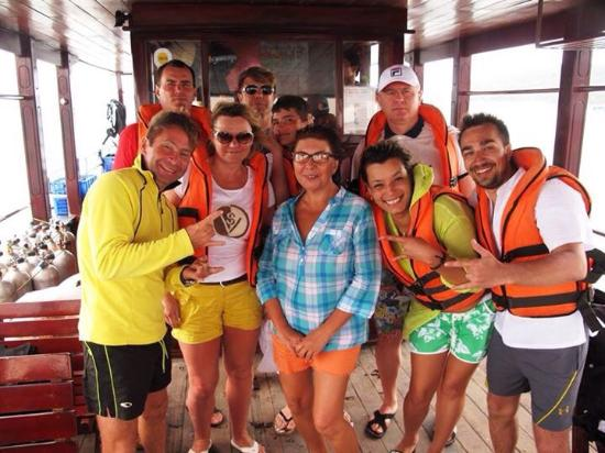 Amigos Divers Nha Trang: Magnificent team! The most beautiful dive sites!! Modern equipment!!! What else is necessary for