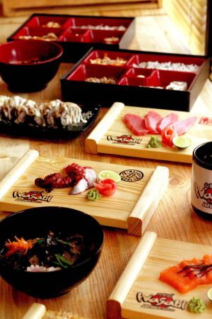 Hasil gambar untuk Wasabi Sushi and Ramen Semarang