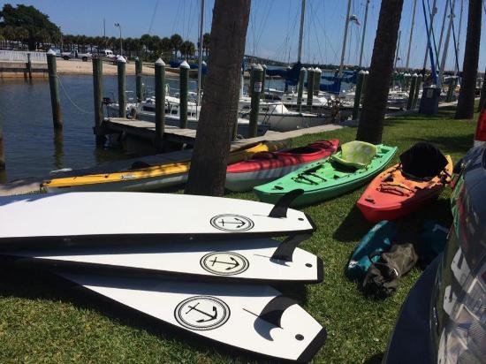 Fort Pierce, Floryda: Plenty of boards!