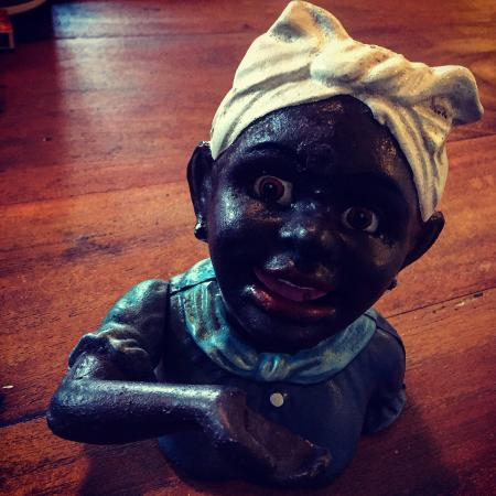 Bangalow Market: A vintage money box I picked up at the market