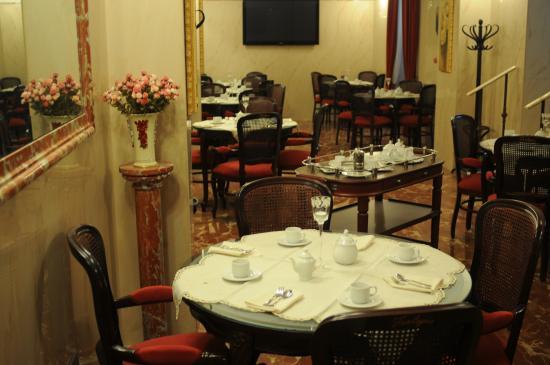 Villa Maria: Sala prima colazione