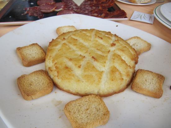 Uno de los platos del menu degustacion fotograf a de - El horno de yeles ...