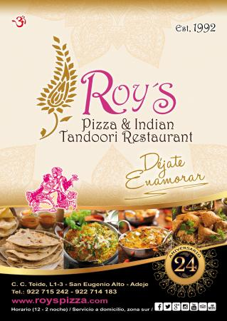 Roy Pizza And Indian Tandoori: The Pocket guide