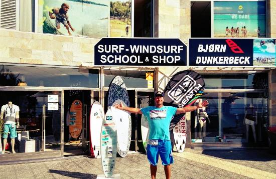 Dunkerbeck Windsurf, Surf and SUP Schule