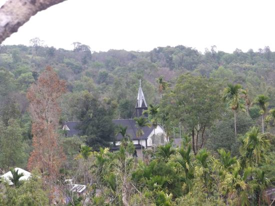 Mawlynnong, Indie: Church of Asias cleanest village