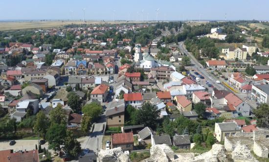 Ilza, بولندا: Widok ze wzgórza zamkowego