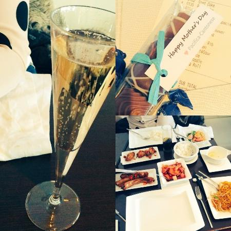 Pacifica Cantonese : Free champagne & chocolates for Mothers