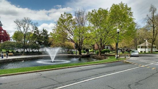 Lititz, Pensilvania: Entrance to Park