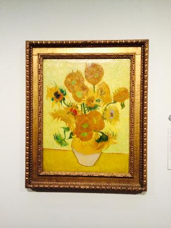 Van Gogh Museum Sunflowers Painting By Vincent