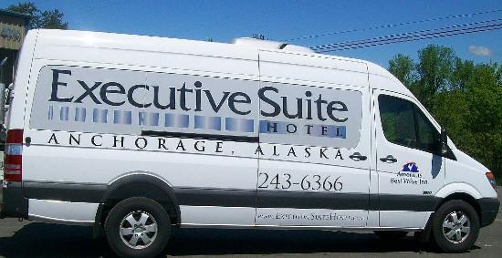 Americas Best Value Inn - Executive Suite Airport: Van