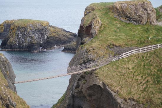 Ballycastle, UK: Carrick a rede Rope bridge