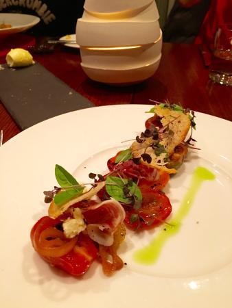 Marananga, Australia: Heirloom tomato salad