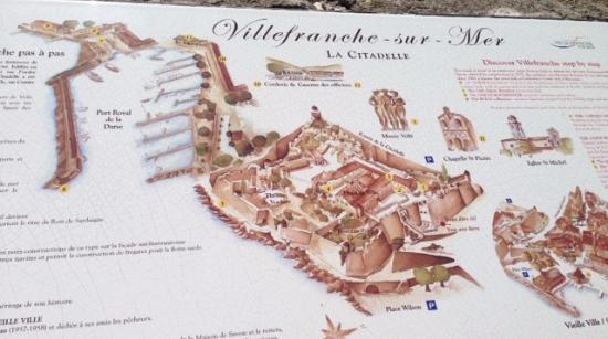 Les Musees de La Citadelle: Mappa Cittadella