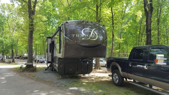 Lake Myers RV & Camping Resort: camp site