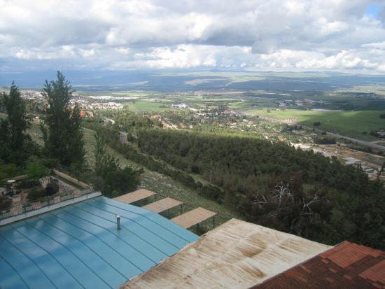 Hotel Mitzpe Hayamim: photo prise du balcon de l\hotel