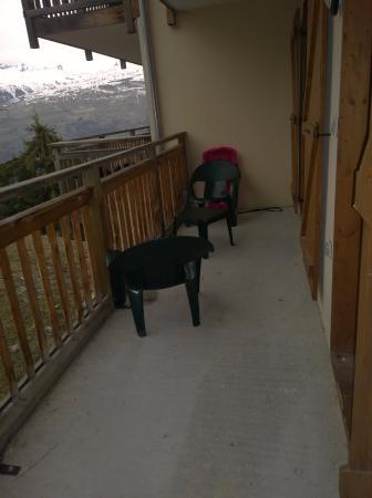 Les Coches, Prancis: Grand balcon sans vis à vis