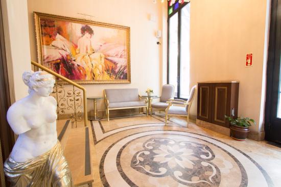 Hotel Villa Zurich: Lobby