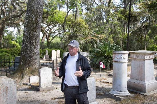 Saint Simons Island, Geórgia: Cap Fendig at Christ Church Graveyard