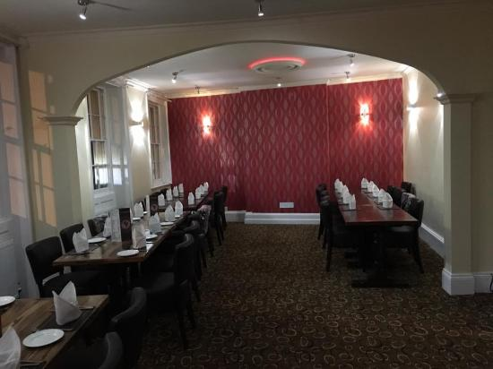 Monmouth, UK: Partty room