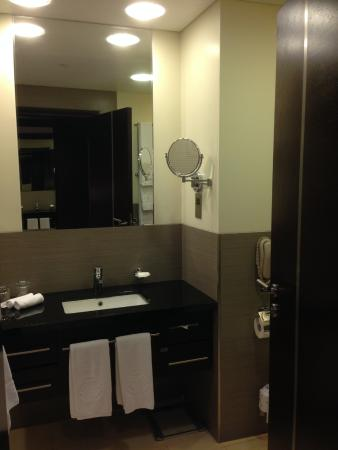 Oryx Rotana Doha: The Hairdryer Is In The Bathroomu0027s Cabinet