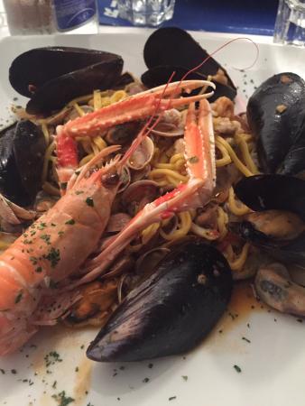 Pasta allo scoglio - Picture of Ricci Di Mare, Rimini - TripAdvisor