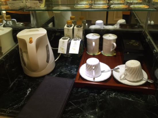 Sunshine Hotel Jiaxing: coffee\tea facilities