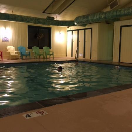 Ludlow, VT: pool break