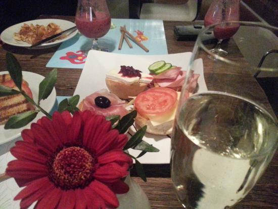 Tettnang, Alemania: nibbles and amazing smoothies