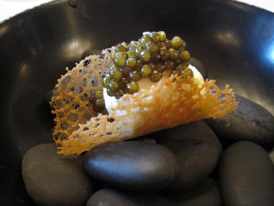 Oeuf de caille et caviar