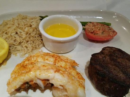 CV Steak House: Serf and turf
