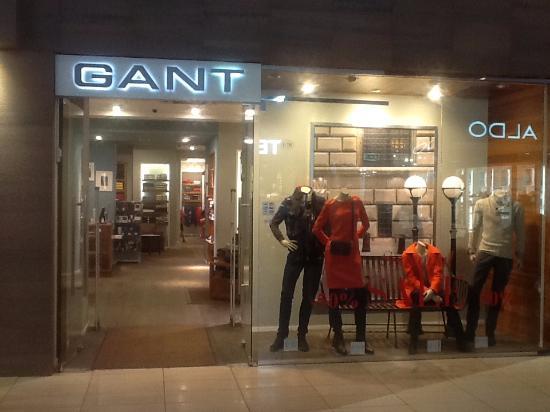 ТРК Гранд Каньон  Магазин Gant свидетельствует о достойном уровне брендов 95b6eb8cc7f