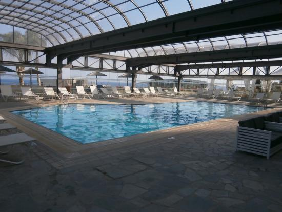 covered swimming pool - Picture of Atlantica Bay Hotel ...