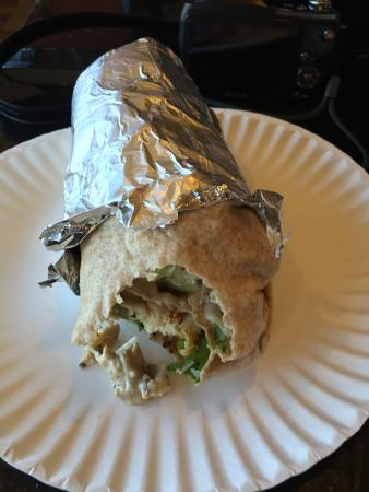Newburyport, MA: Chicken Caesar Wrap