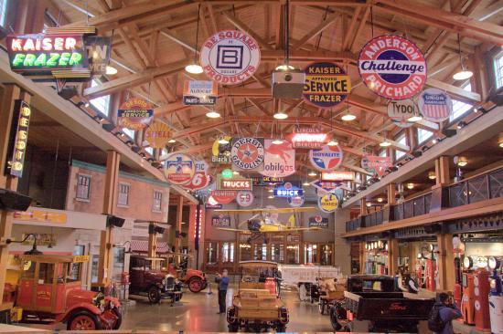 Heritage Park Car Museum Calgary
