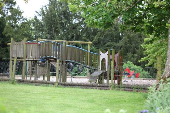 Lauder, UK: Children's playground