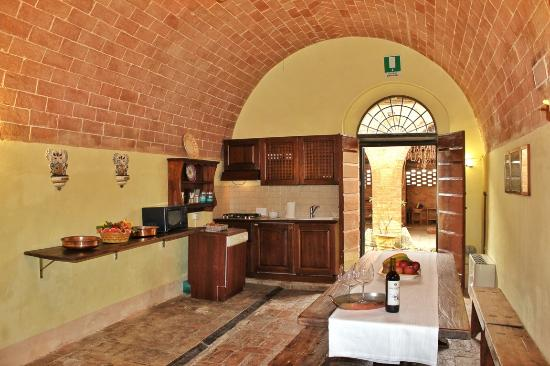 Monteroni d'Arbia, Italië: Il Vino the kitchen
