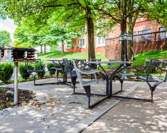 Platte City, MO: Picnic Area with BBQ Grill