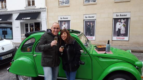 Paris, Prancis: Time for champagne