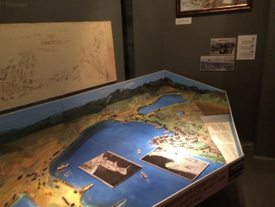 Hammerfest, Noruega: Modell der Stadt