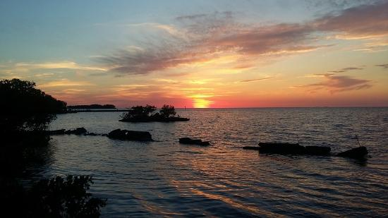 Reef Resort: That awesome Florida Keys sunset.