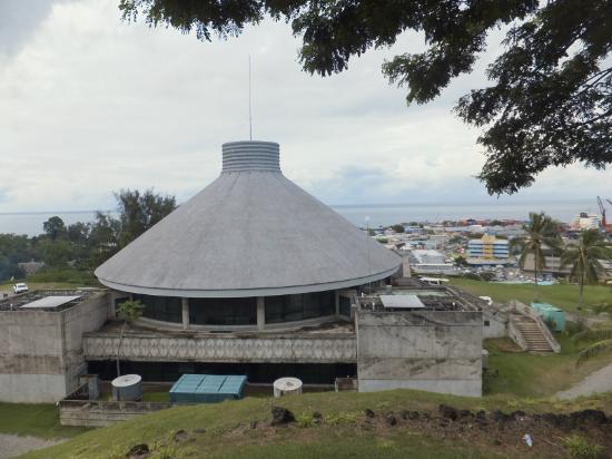 Solomon Kitano Mendana Hotel: Parliament and ocean