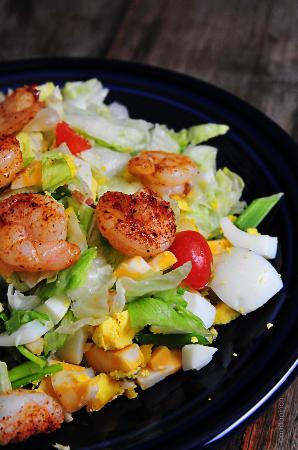 Bainbridge, Τζόρτζια: Blackened Shrimp Salad