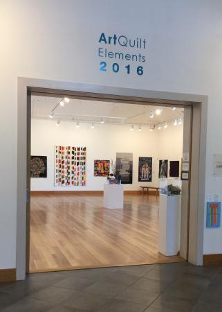 เวย์เน, เพนซิลเวเนีย: Art Quilt Elements 2016