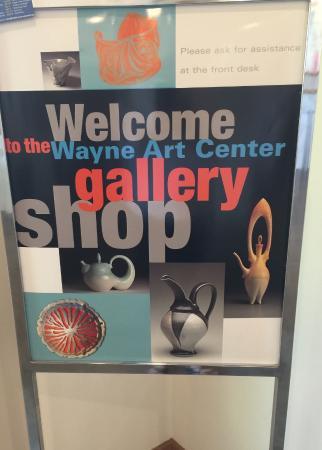 เวย์เน, เพนซิลเวเนีย: Wayne Art Center Gallery Shop