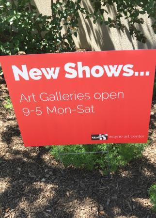 เวย์เน, เพนซิลเวเนีย: Art Galleries - open hours